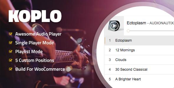 Koplo v1.3 – WooCommerce Product Audio Sample Player