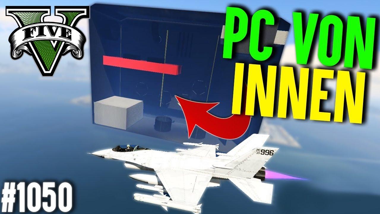 GTA PARCOUR IM INNEREN EINES PC (+Download)| GTA 5 – Custom Map Rennen