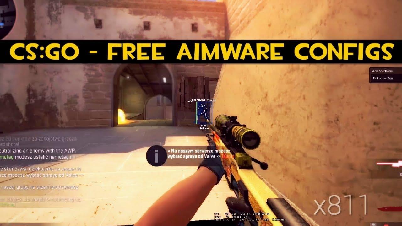 CS:GO – Free Aimware Configs – Rage, HvH & Legit + Download!