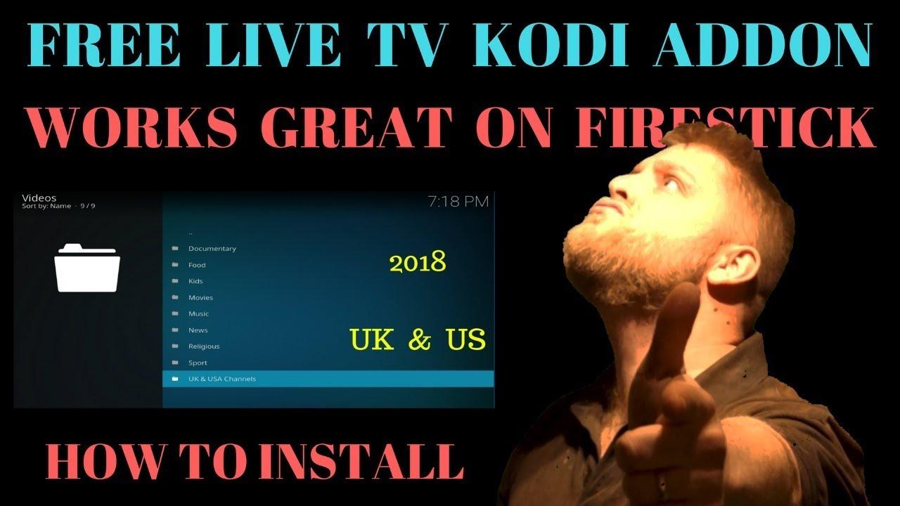 FREE Iptv Kodi Addon … Works Great On Slower Devices Too