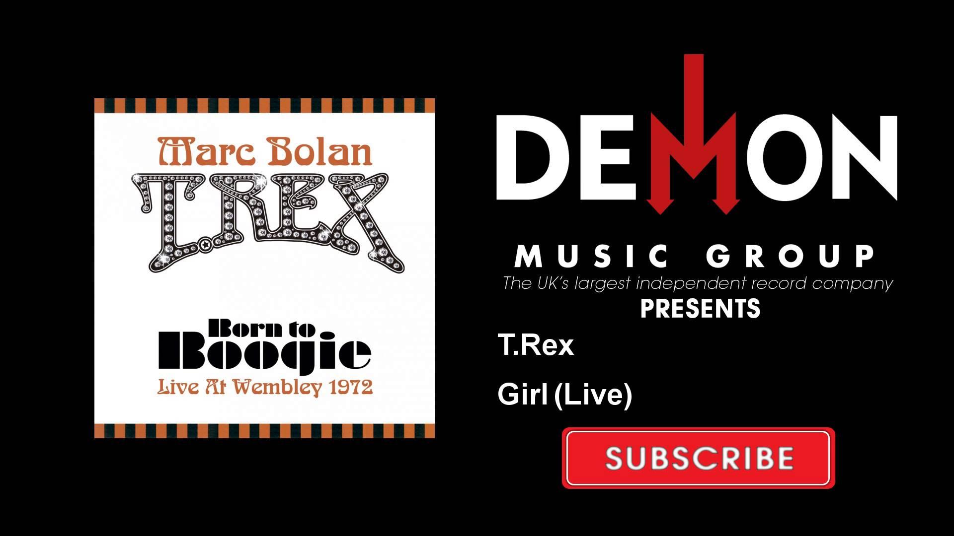 T.Rex – Girl – Live