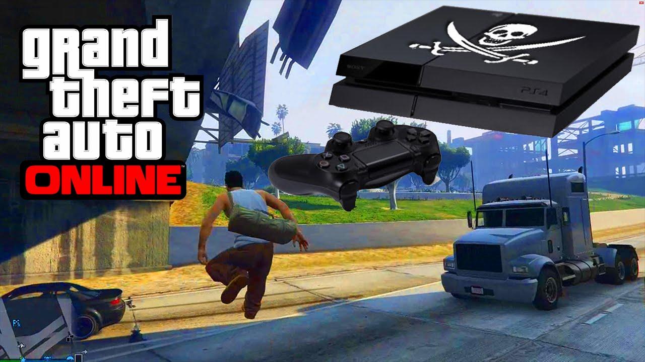 PS4 JAILBREAK – GTA 5 ONLINE
