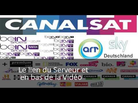 "Serveur Cccam & Newcamd Renouvelable 2017 jsqa 501 Bouquet "" Cccam 16/09/2017 "" marche 100% garanti"