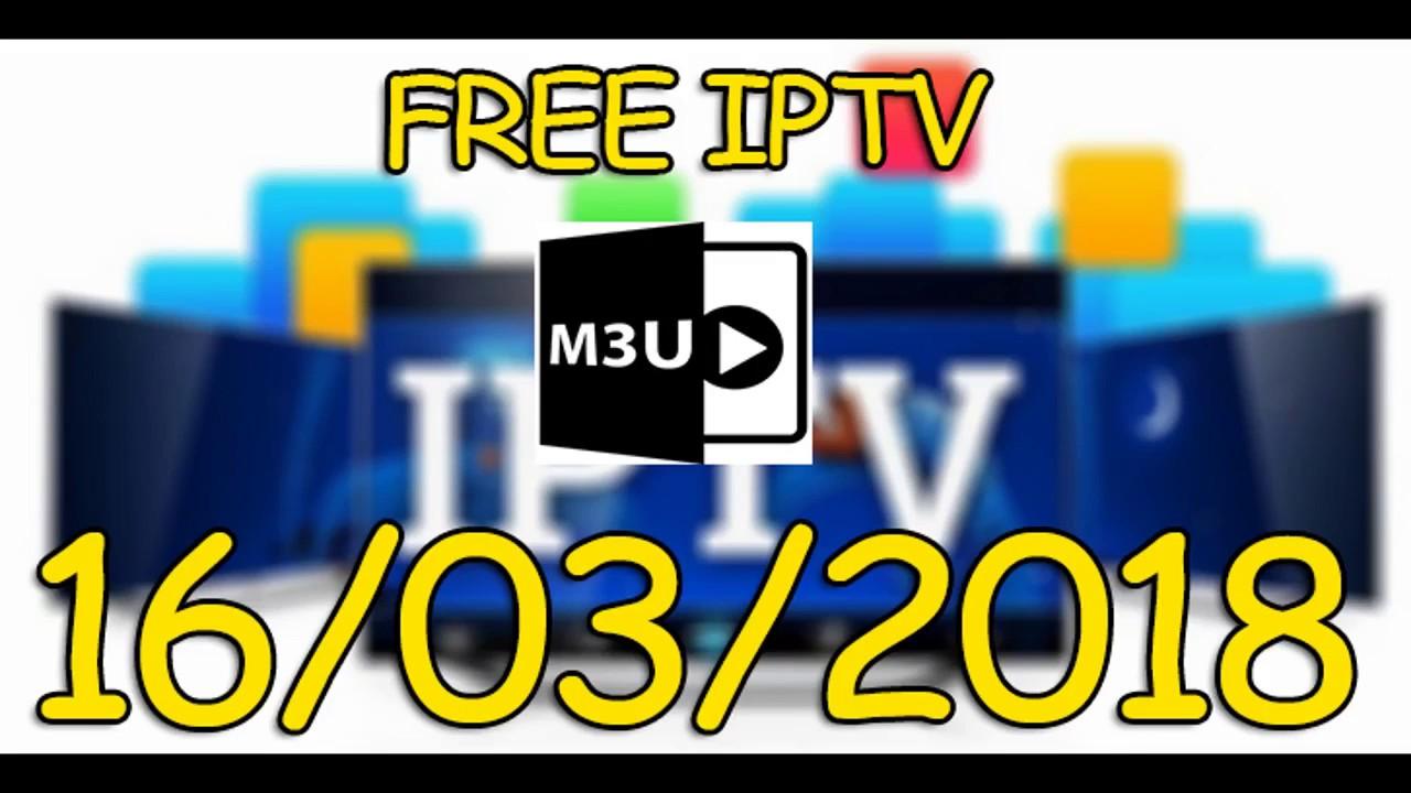 Free IPTV Links M3u 16-03-2018
