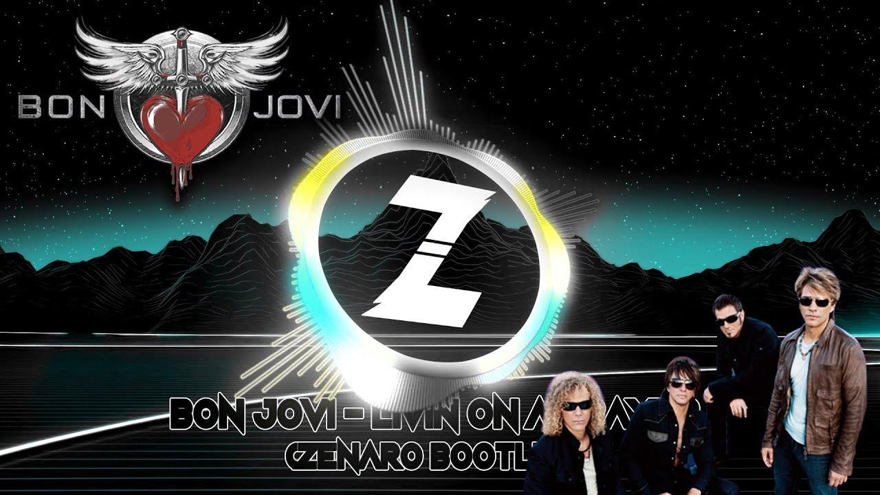 BON JOVI – LIVIN' ON A PRAYER (ZENARO BOOTLEG)   FREE DOWNLOAD   FESTIVAL MIX   [AUDIO VISUALIZER]