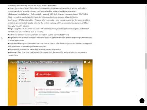 ESET NOD32 Antivirus 11 License Key + Crack Full Free ...