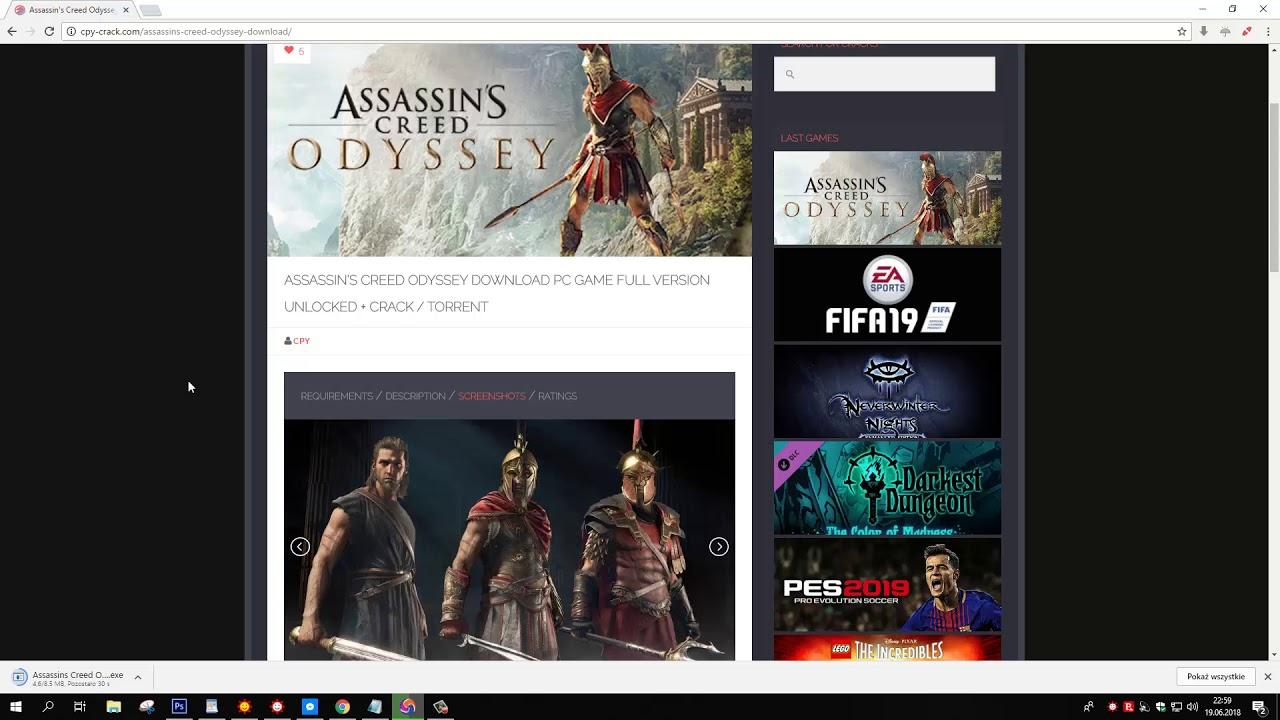 assassins creed odyssey torrent kickass