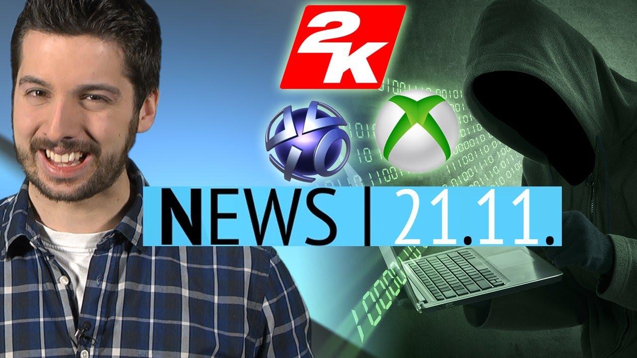 Hacker leaken PSN- & Xbox-Passwörter & Assassins Creed für Kinder- News – Freitag, 21. November 2014