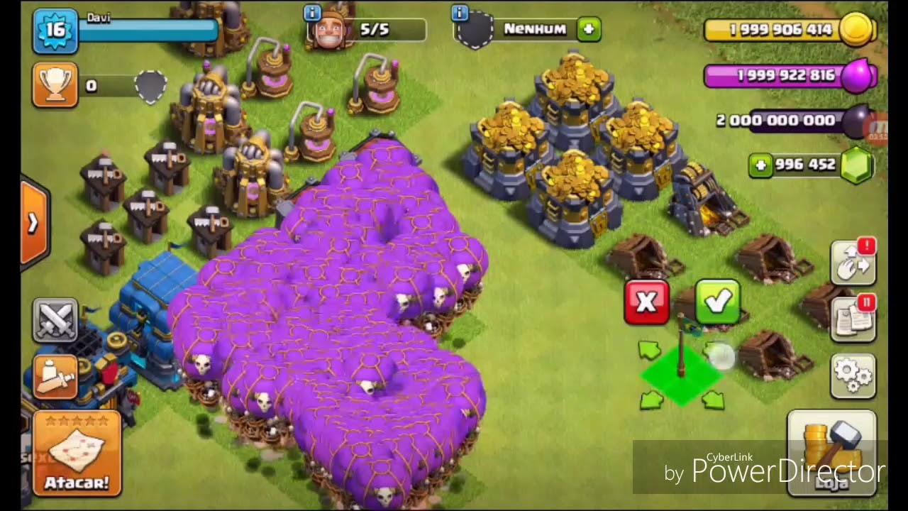 APK jogo Clash of Clans hack