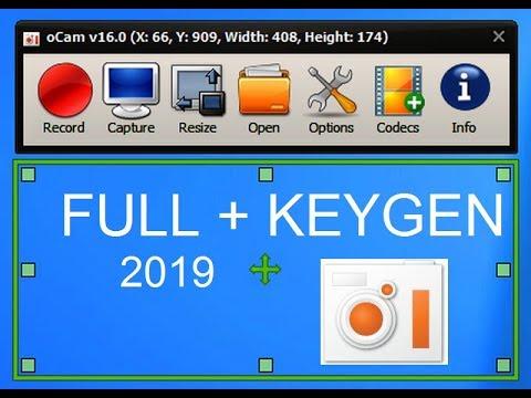 Ocam v465.0 Full Version Keygen + Serials 2019 Download
