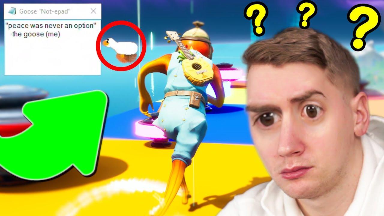 Fortnite Deathrun But A Goose Hacks My Game…. (Fortnite Creative)