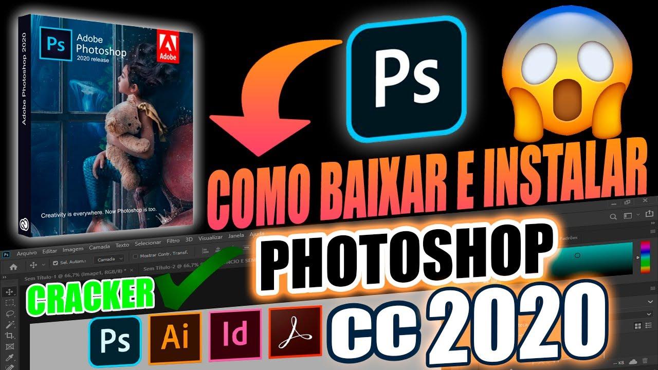 BAIXAR e INSTALAR PHOTOSHOP CC 2020 + CRACK [PT-BR] (Sem Propagandas no Link )