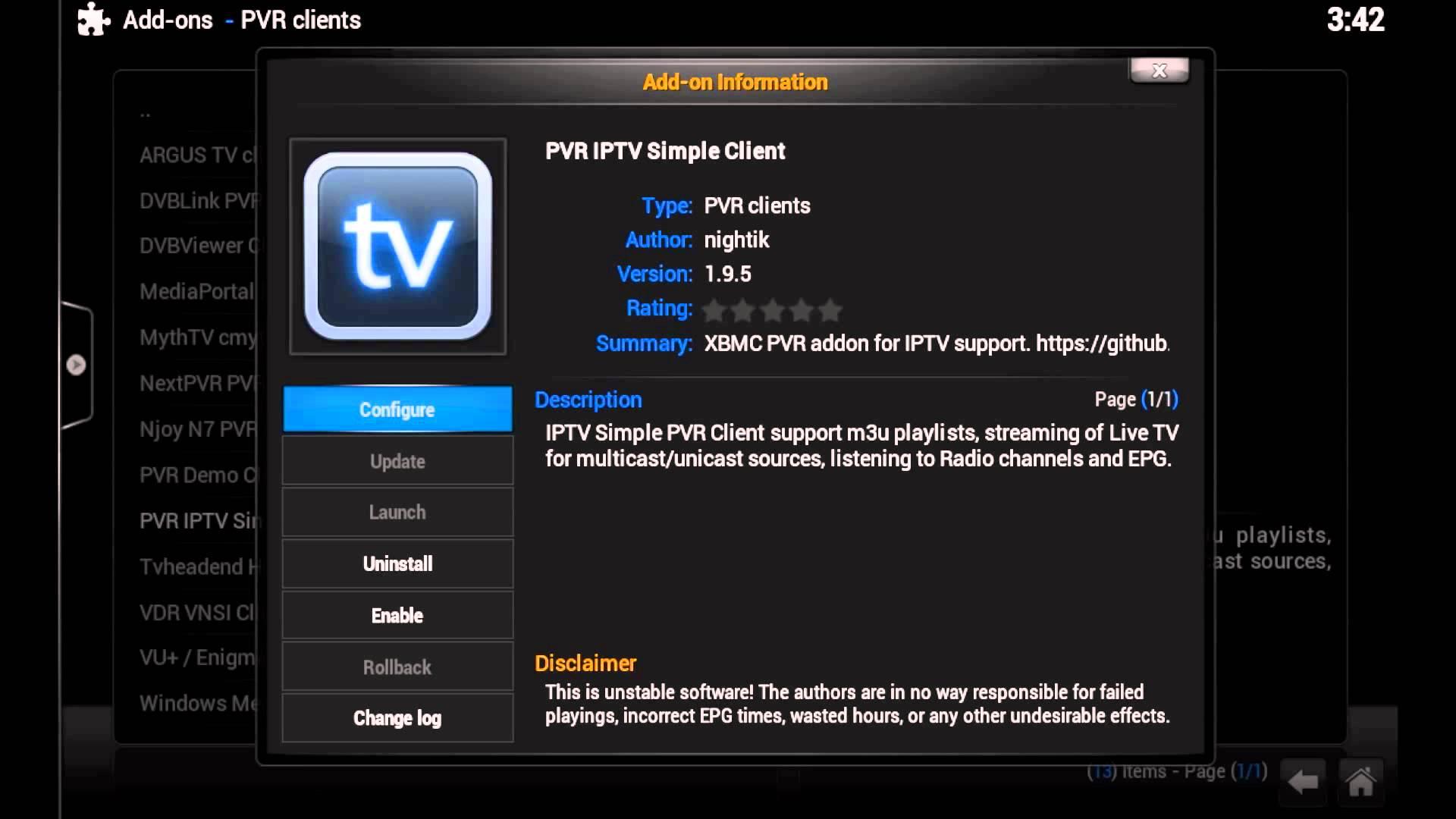 Kodi Tutorials - Setting Up Live TV with IPTV Simple