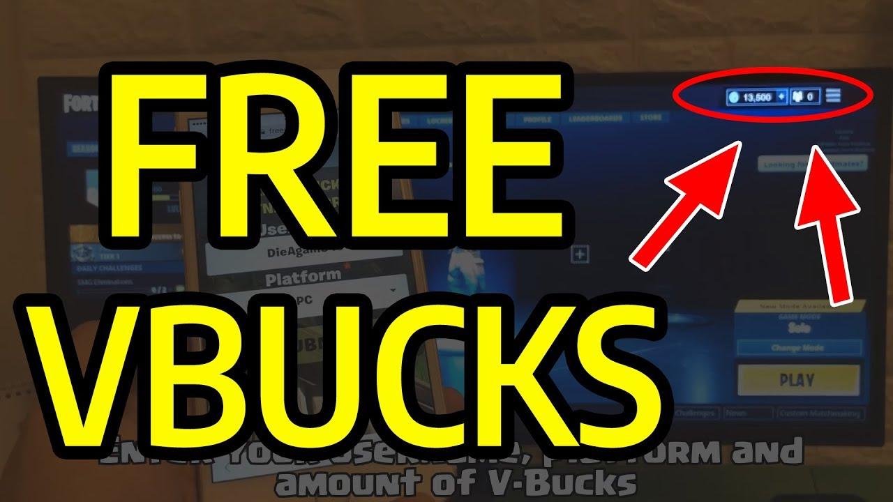 Fortnite Hack – How To Get FREE VBUCKS – V Bucks Hack ...