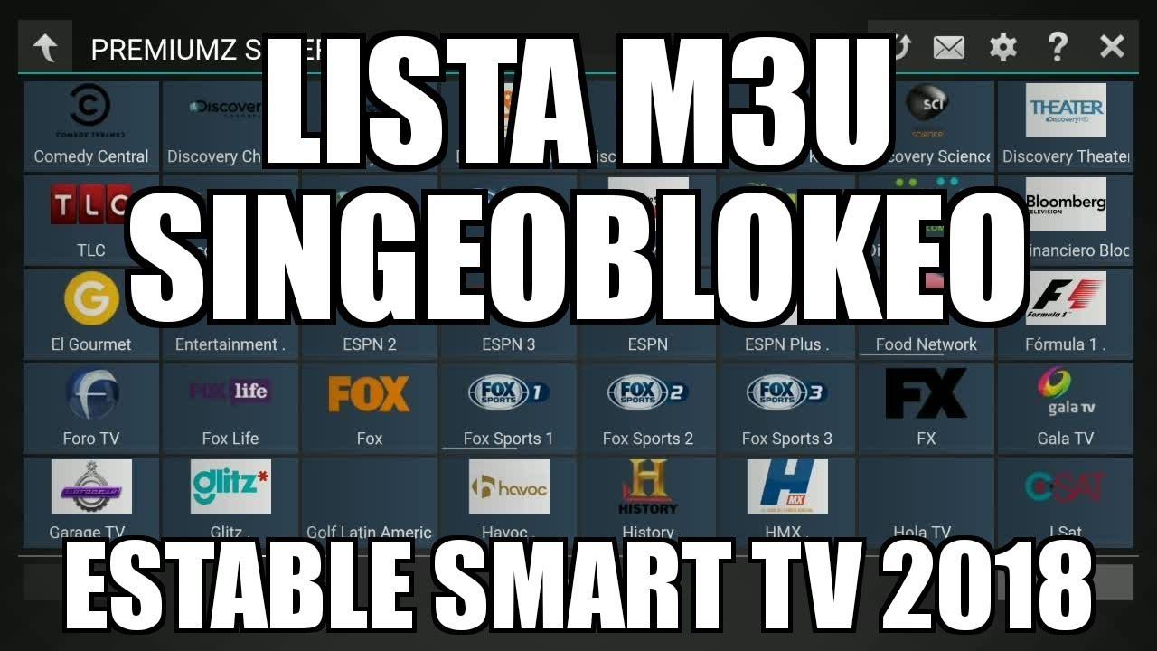 LISTA M3U DAKOTA IMPACTEX C4NAL35 ZUPPA G3OSYDER SMART TV ANDROID 2018