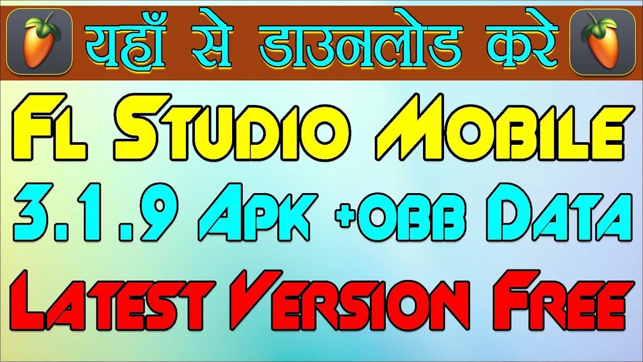 fl studio mobile obb download