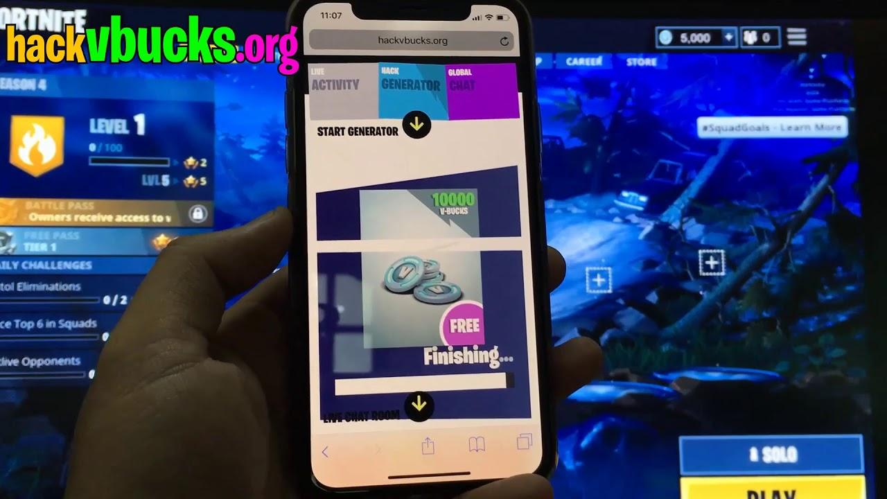 Fortnite Hack – Free V Bucks Hack (XBOX ONE/PS4,PC/iOS)