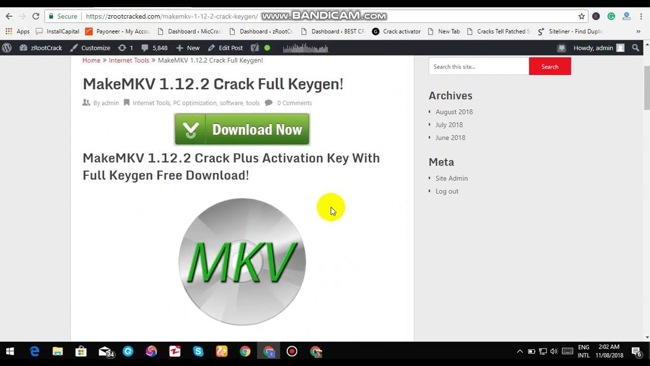 MakeMKV Keygen Archives
