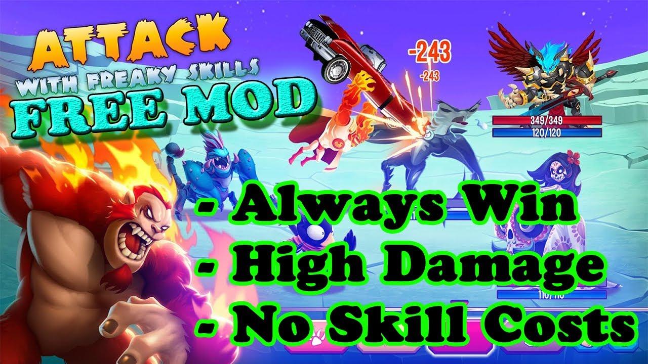 FREE! Monster Legends RPG Ver. 9.2.13 MOD APK | Always Win | High Damage | No Skill Costs |