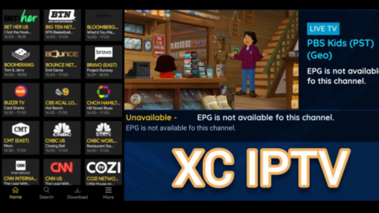 XC IPTV Player: Free IPTV Player & Free m3u Playlist For Free Live & Free IPTV