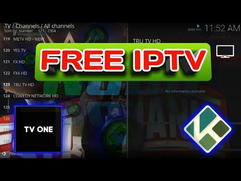 FREE IPTV – How to install TV ONE addon on Kodi 18.6